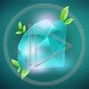 kamienie turkus diament szafir liście kamień rośliny natura niebieski luksus szlachetny