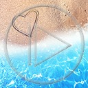 serce miłość morze woda plaża piasek serduszka miłosne serduszko serca