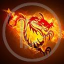 ogień smok znak symbol wzór dragon płomień wzory znaki smoki symbole