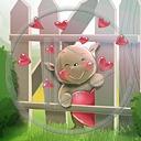 serce miłość miś misiek serduszka płot misie misio miłosne misiaczek serca