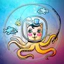 zwierzęta ryba ośmiornica rybki zwierze treser tresura