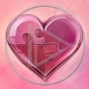 serce miłość serduszka puzzle miłosne serduszko serca