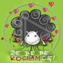 zwierzęta serce miłość baran serduszka miłosne kocham cię serca zwierze barany be be be