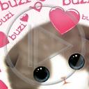 serce miłość kot koty buzi miłosne kociak serca