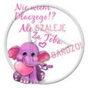 serce miłość słoń słonik napis miłosne bardzo tekst serca różowy słoń nie wiem dlaczego ale szaleję za tobą