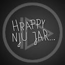 sylwester napis nowy rok tekst noworoczne hrappy hju jar