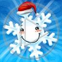 uśmiech Mikołaj święta zima śnieg buzia Boże Narodzenie świąteczne śnieżynka śnieżynki