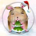 królik zwierzęta Mikołaj święta choinka Boże Narodzenie drzewko króliki świąteczne zwierze