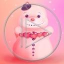 serce miłość zima śnieg bałwan miłosne bałwanek bałwany serca