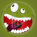oczy buźka zęby język gały buzia stworki stworek