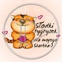 zwierzęta serce miłość tygrys napis tekst serca zwierze słodki tygrysek dla mojego skarbka