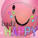 uśmiech buźka buzia bądź happy bądź szczęśliwy
