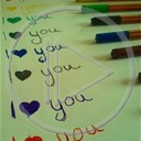 serce miłość napis miłosne i love you napisy