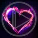 serce miłość ogień serduszka płomień miłosne serduszko serca