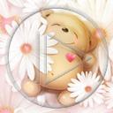 serce kwiat miłość miś kwiaty misiek misie misio miśki