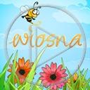 kwiaty pszczoła wiosna łąka przyroda natura pszczoły plener