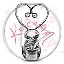 serce miłość kocham robak robaczek miłosne serca