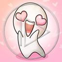 serce miłość serduszka stworki zakochany stworek miłosne serduszko serca