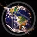 kosmos planeta Ziemia świat kula ziemska