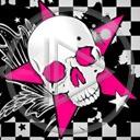 kości czaszka śmierć różowa horror czaszki emo straszne czacha czachy