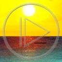 krajobraz słońce woda widok horyzont przyroda natura plener
