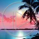 krajobraz palma morze ocean widok przyroda natura plener