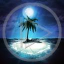 krajobraz palma wyspa niebo morze ocean drzewo widok horyzont plener