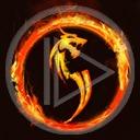 ogień koło znak symbol wzór różne płomień obręcz