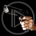 broń strzał dłoń rewolwer ręka strzelać gnat