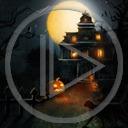 duchy noc księżyc śmierć halloween dynia horror straszne