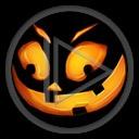 zabawa głowa buzia halloween dynia horror straszne Święto Zmarłych