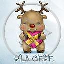 serce miłość święta renifer Boże Narodzenie dla ciebie serca świąteczne reniferek