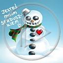 serce miłość zima śnieg bałwan napis miłosne tekst bałwany serca jesteś moim serduszkiem