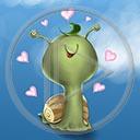 serce miłość ślimak zakochany ślimaki miłosne serca zwierze