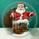 Mikołaj święta zima śnieg Boże Narodzenie prezenty komin świąteczne