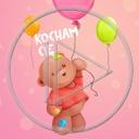 miłość miś balony misiek balon misie misio miłosne kocham cię miśki