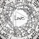miłość koło love napis hate nienawiść tekst uczucie