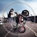 motocykl motory motoryzacja motocykle jednoślady palenie gumy