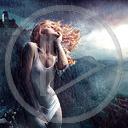 kobieta burza deszcz postacie postać dziewczyna kobiety dziewczyny osoby osoba
