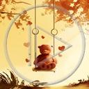 serce miłość miś misiek misie misio huśtawka miłosne serca