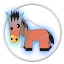 zwierzęta koń konie konik osiołek zwierzak koniki zwierzaki zwierzę